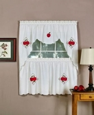 Delicious Apple Kitchen Curtain Set