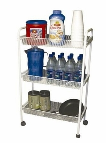 Deluxe 3 Tier Rolling Storage Cart