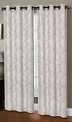 Dover Linen Look Curtain (2 piece Set) Taupe