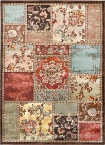 Dream Weave Floral Frames Area Rug
