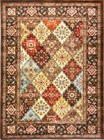 Dream Weave Country Squares Area Rug