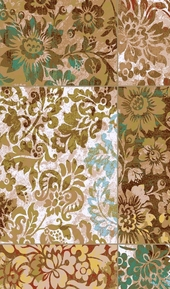 Dream Weave Floral Tiles Area Rug