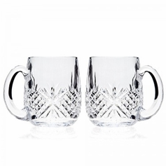 Dublin 18oz Beer Mug 2pc Set