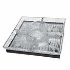 Dublin Square Lazy Susan With Mirror