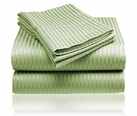 Embossed Dobby Stripe Sheet Set (Sage Green)