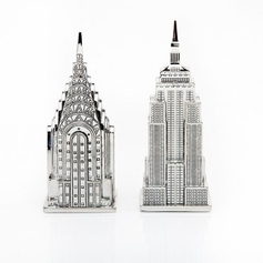 Empire State & Chrysler Salt & Pepper Set
