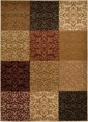 Evolution Patterned Squares Area Rug (Multi)
