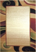 Evolution Rug Cream Area Rug 8x11