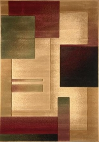 Evolution Squares 4x6 Area Rug
