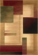 Evolution Squares  Area Rug 8x11