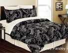 Filigree Paisley Complete Bed in a Bag Set