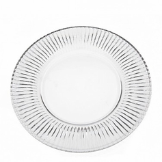 "Set of 4 Fire & Ice 9"" Salad Plates"