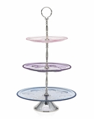 Florentine 3 Tier Server (Multi-Colored)