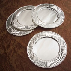 Fluted Charger Plate Set