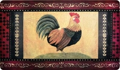Foam Comfort Kitchen Rug (Rooster)
