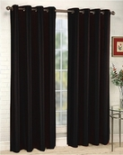 Tranquility Foamback Blackout Panels (Set of 2) - Black