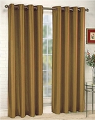 Tranquility Foamback Blackout Panels (Set of 2) - Gold