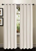 Tranquility Foamback Blackout Panels (Set of 2) - Ivory