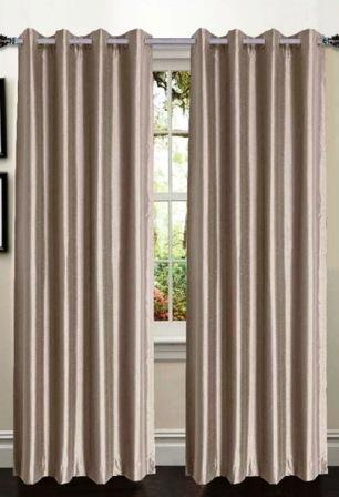 Ana Woven Blackout Panels – Taupe