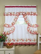 Fruitopia Kitchen Curtain Set