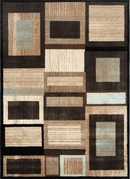 Galaxy Abstract Boxes Area Rug