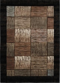 Galaxy Lines Squared Area Rug