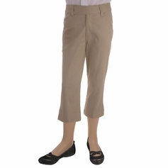 Girl's Capri Pants (Khaki)