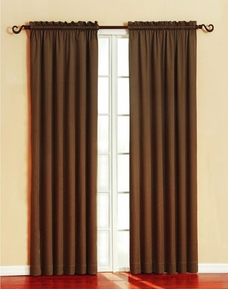 Granada Blackout Panel (Chocolate)