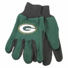 Green Bay Packers Two Tone Gloves