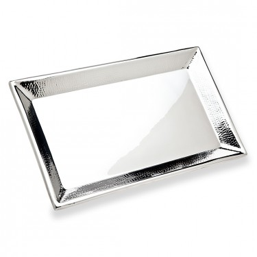 Hammered Rectangular Tray