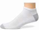 Hanes or Friut of the Loom Men's Cushion Low Cut Socks (6pk)