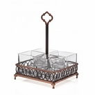 Hanover Copper Flatware Caddy
