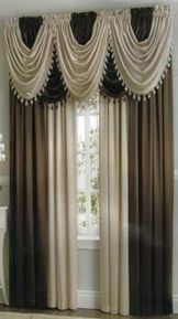 Hilton Waterfall Valance
