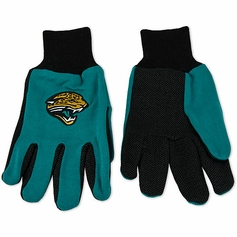 Jacksonville Jaguars Two Tone Gloves