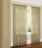 Jenny Crushed Sheer Curtain (Antique)