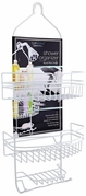 Jumbo Shower Caddy (White)