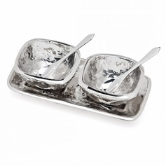 Lava Open Tray Salt/Pepper