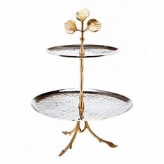 Leaf Design 2 Tone 2 Tier Server
