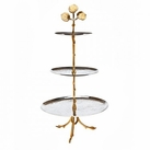 Leaf Design 2 Tone 3 Tier Server