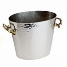 Leaf Design 2 Tone Wine Bucket