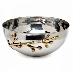 "Leaf Design 12 1/4"" Salad Bowl"