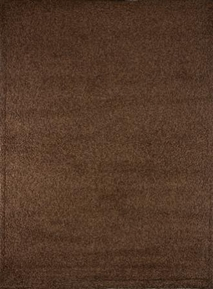 Lexington Solid  Shag Rug (Brown)