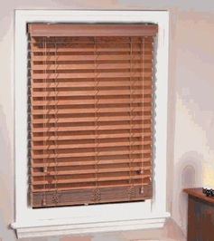 Madera Falsa Faux Wood Blinds (Maple)