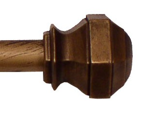 Madrid Curtain Rod (Copper)