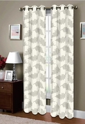 Majestic Grommet  Curtain (Ivory)