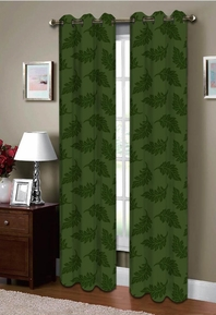 Majestic Grommet Curtain (Sage Green)