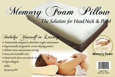 King Size Memory Foam Comfort Pillow
