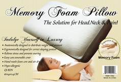 Queen Size Memory Foam Comfort Pillow