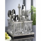 Metal Flatware Caddy