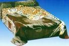 Mink Blanket with Leopard Print